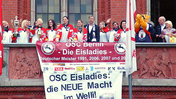Deutscher Meister: 1991 | 2006 | 2007 | 2009 | 2010 - 3. Platz Europapokal 2010